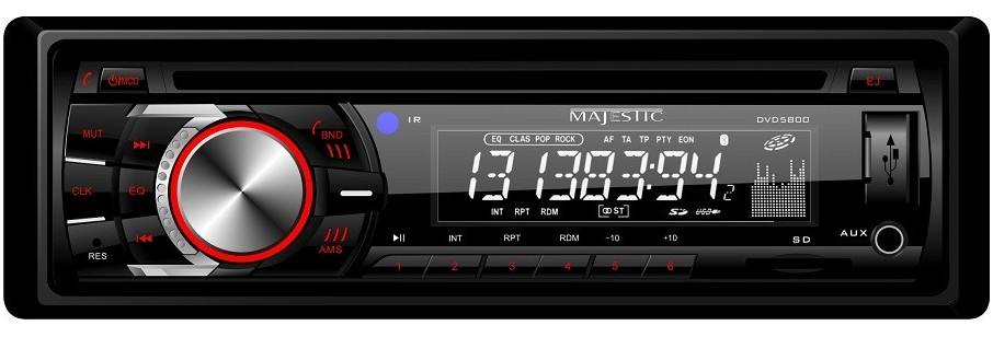Majestic 12 Volt CD/DVD Stereo for Boats, Trucks, Caravans Marine RV