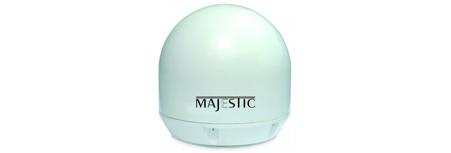 Majestic Automatic Marine Satellite TV Antenna - for Boat